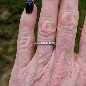 Jewelry - Gorgeous CZ Eternity Band